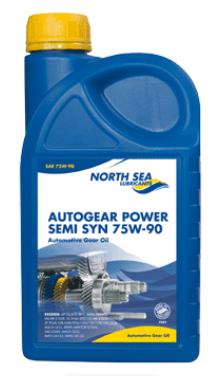 NORTH SEA Трансмиссионное масло AUTOGEAR POWER МКПП SAE 75w90 1л Semi-synthetic