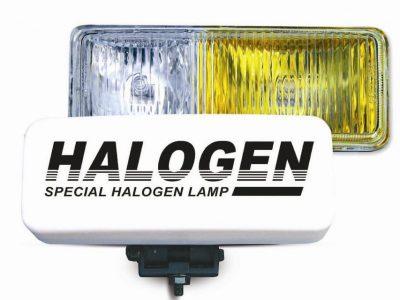AVS Противотуманные фары галогенные H3 белый-желтый, 12V 55A H3, пластик, рифленое стекло PF-116H