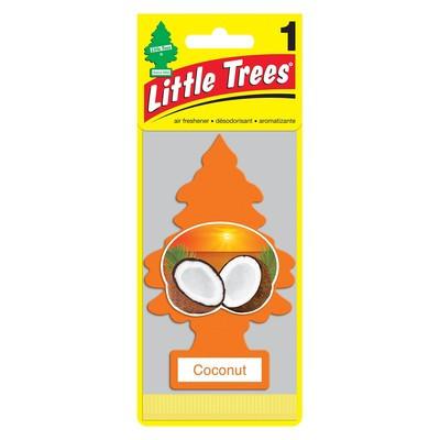 LITTLE TREES Комплект ароматизаторов (3 шт.) ёлочка «Кокос» (Coconut) 1уп.х3шт.