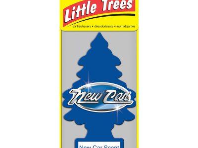 LITTLE TREES Комплект ароматизаторов (3 шт.) ёлочка «Новая машина» (New car scent) 1уп.х3шт.