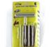 CHINA Набор для ремонта бескамерных шин 7 предметов (шило, игла, 5 жгутов) стальная сменная ручка