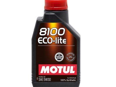 MOTUL Моторное масло 8100 Eco-lite SAE 5w30 1л Full-synthetic