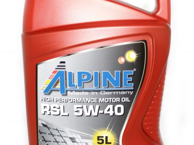 ALPINE Моторное масло RSL SAE 5w40 5л Full-synthetic
