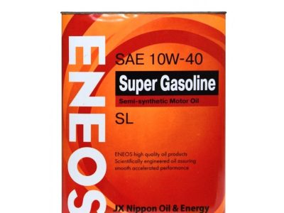 ENEOS Моторное масло Super Gasoline SAE 10w40 4л Semi-synthetic