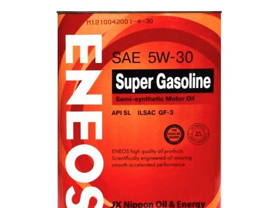 ENEOS Моторное масло Super Gasoline SAE 5w30 4л Semi-synthetic