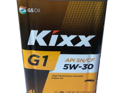 KIXX Моторное масло G1 SAE 5w30 4л Full-synthetic
