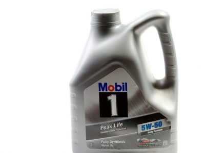 MOBIL 1 Моторное масло Peak Life SAE 5w50 4л Full-synthetic
