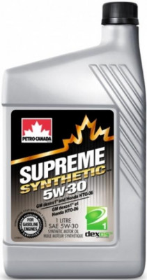 PETRO CANADA Моторное масло Supreme Synthetic SAE 5w30 1л Full-synthetic