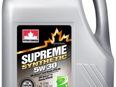 PETRO CANADA Моторное масло Supreme Synthetic SAE 5w30 4л Full-synthetic