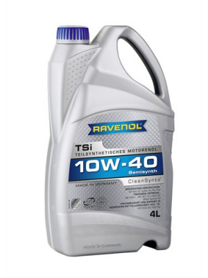 RAVENOL Моторное масло TSI SAE 10w40 4л Semi-synthetic