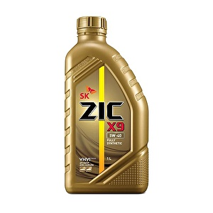 ZIC Моторное масло X9 SAE 5w40 1л Full-synthetic
