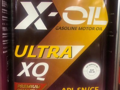 X-OIL Моторное масло Ultra XQ SAE 5w40 1л Full-synthetic