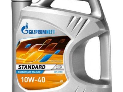 GAZPROMNEFT Моторное масло Standart SAE 10w40 4л Mineral oil