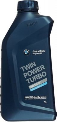 BMW Моторное масло TwinPower Turbo LongLife-01 SAE 5w30 1л Full-synthetic