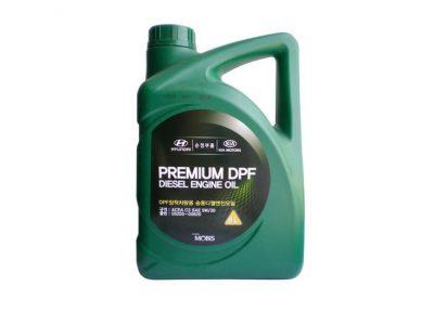 HYUNDAI Моторное масло Premium DPF Diesel SAE 5w30 6л Full-synthetic
