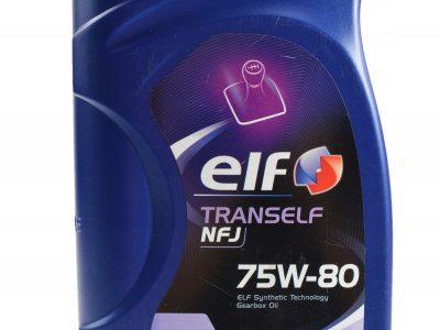 ELF Трансмиссионное масло Tranself NFJ SAE 75w80 1л Full-synthetic