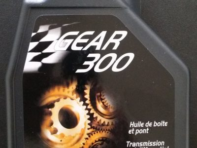 MOTUL Трансмиссионное масло МКПП Gear 300 SAE 75w90 1л Full-synthetic