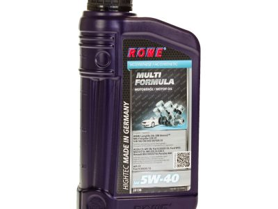 ROWE Моторное масло Hightec Multi Formula SAE 5w40 1л Full-synthetic