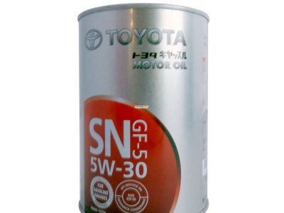 TOYOTA Моторное масло Motor Oil SAE 5w30 1л Semi-synthetic.
