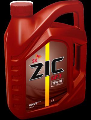 ZIC Трансмиссионное масло МКПП GFT SAE 75w85 4л Full-synthetic
