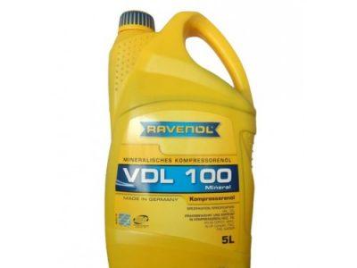 RAVENOL Компрессорное масло VDL 100 5л Mineral oil