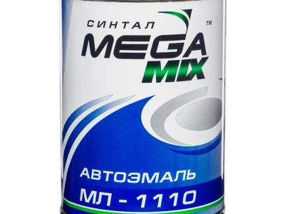 MEGAMIX Автоэмаль алкидная 1035 Желтая, 0,80кг