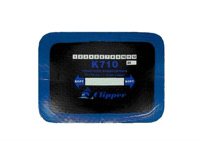 CLIPPER Пластырь кордовый радиальный, 55мм х 75мм