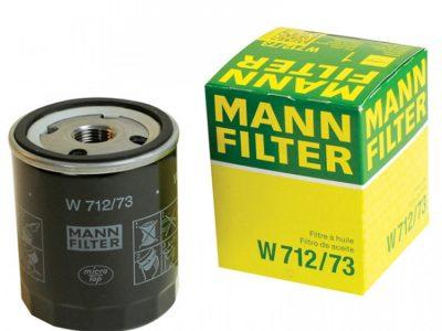 MANN Фильтр масляный W 712/73