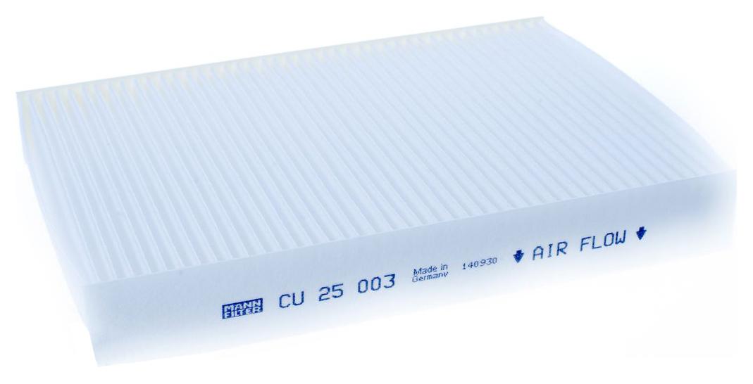 MANN Фильтр салонный CU 25 003