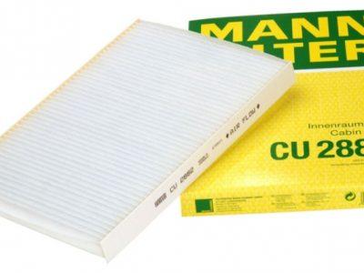 MANN Фильтр салонный CU 2882