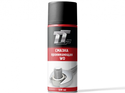 TT Смазка проникающая WD, 0,52л