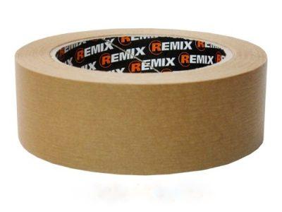 REMIX Скотч бумажный 36*40мм коричневый