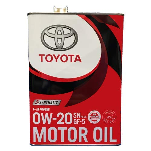 TOYOTA Моторное масло Motor Oil SAE 0w20 4л (жест) Full-synthetic