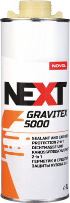 NOVOL NEXT Антигравийное покрытие GraviTex 5000 с добавлением герметика 1,0 л
