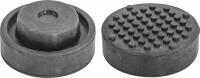 OMBRA Опора резиновая для подкатных домкратов, D-72 мм, H-32 мм