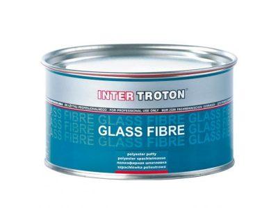 INTERTROTON IT GLASS FIBRE Шпатлёвка полиэфирная со стекловолокном, 400гр