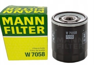 MANN Фильтр масляный W 7058