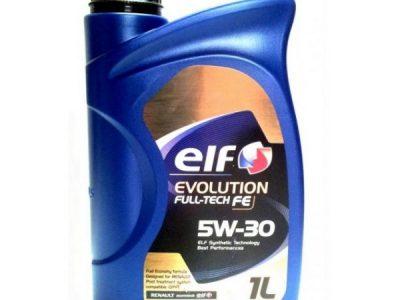 ELF Моторное масло Evolution Full-Tech FE 5w30 1л Full-synthetic