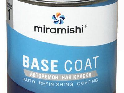 MIRAMISHI Автоэмаль металлик 240 LADA Белое облако, 1л