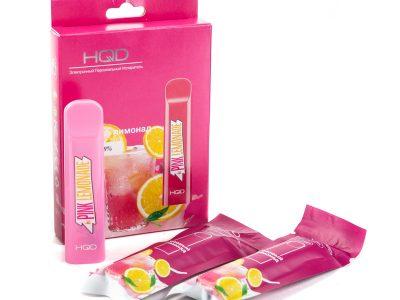 HQD Электронная сигарета Cuvie Лимонад розовый