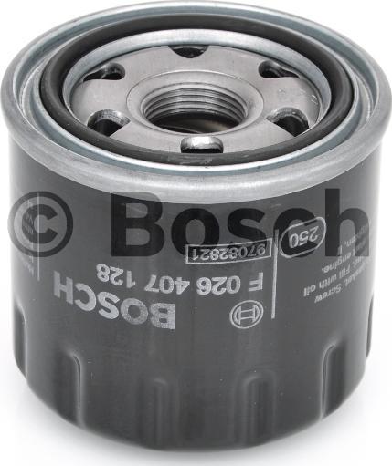 BOSCH Фильтр масляный F 0 246 407 128