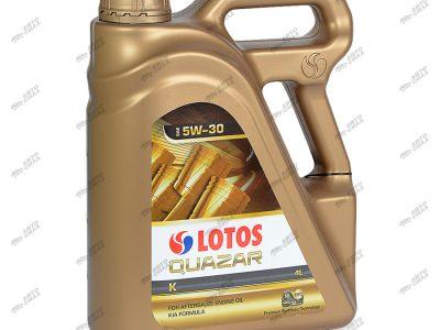 LOTOS Моторное масло Quazar K SAE 5w30 4л Full-synthetic