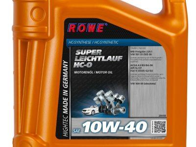 ROWE Моторное масло Hightec Super Leichtlauf HC-O SAE 10w40 4л Semi-synthetic