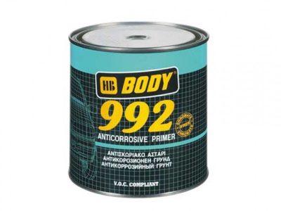 HB BODY Грунт алкидный антикоррозийный 992 Серый 5л