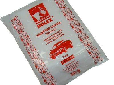 HOLEX Пленка укрывочная 4х7м 7мкм красная упаковка