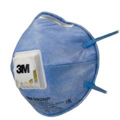 3M Респиратор для защиты органов дыхания с клапаном FFP2 синяя 9926