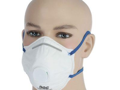 DOG Респиратор для защиты органов дыхания FFP2 с клапаном NR 3302-1