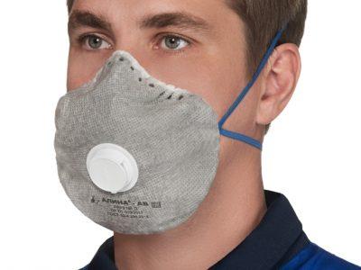 АЛИНА-АВ Средство индивидуальной защиты для органов дыхания с клапаном FFP2