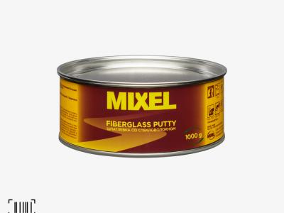 MIXEL Шпатлевка Fiberglass 1,8 кг + отвердитель 0,04 гр