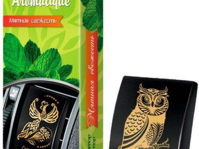 FOUETTE Ароматизатор воздуха на дефлектор «Collection Aromatique» Мятная свежесть